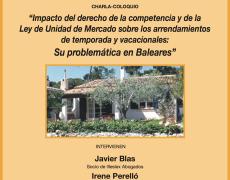 Charla – Coloquio acerca del Alquiler Vacacional en Baleares