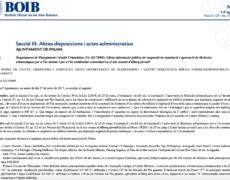 Paralización total de nuevas licencias turísticas en Palma. BOIB – DRIAT